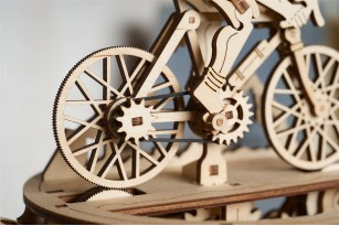 Cyclist mechanical model