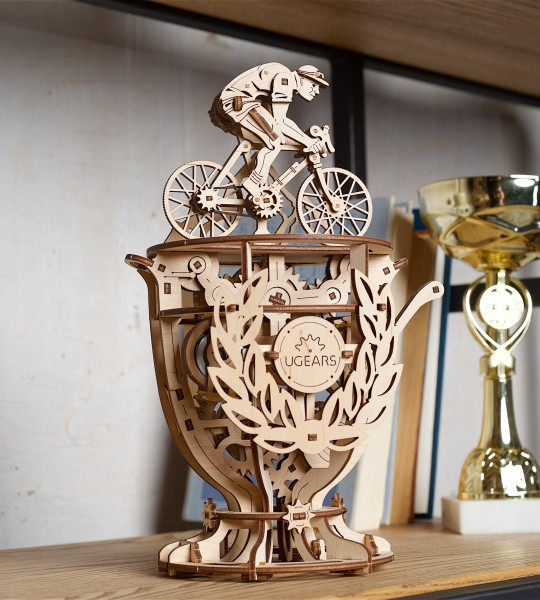Ugears Mechanical Automaton Cyclist