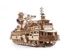 «Research Vessel» mechanical model kit