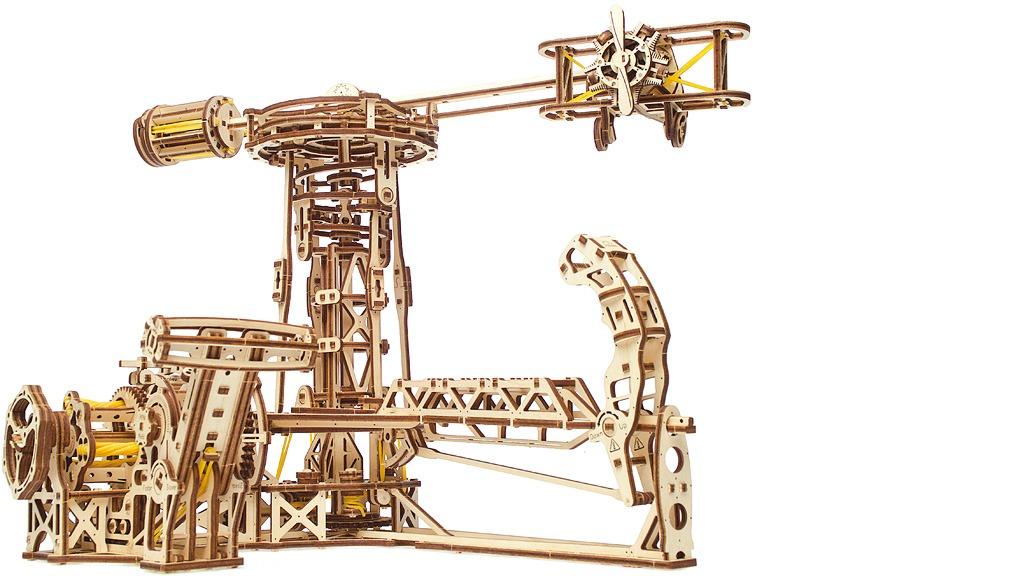 Aviator mechanical model kit