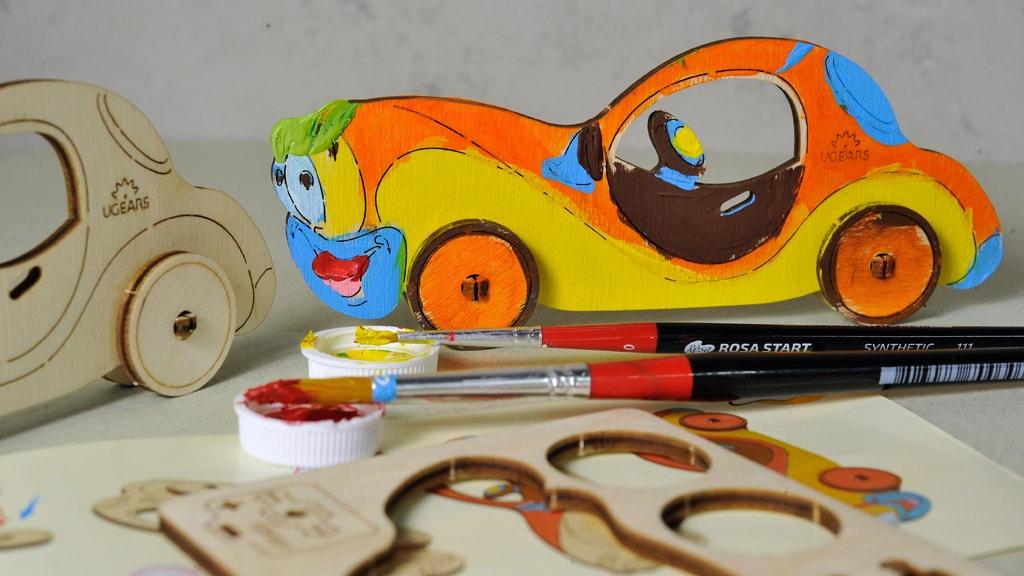 3D coloring model «Car»