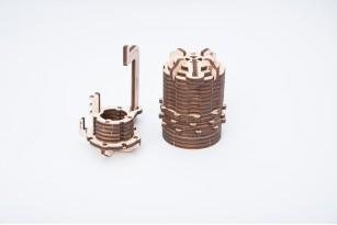 """Combination Lock"" mechanical model kit"