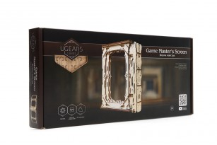 Master's Screen mechanical wooden device for tabletop games