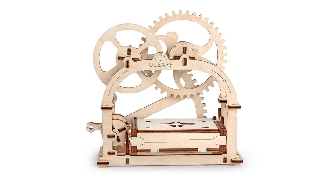 Mechanical Box wooden model