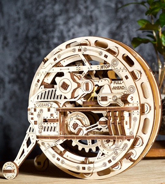 Ugears Monowheel mechanical model kit