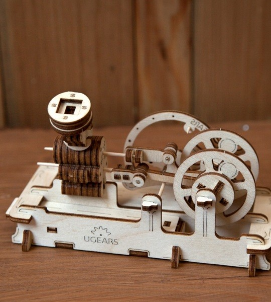 Pneumatic Engine mechanical model kit