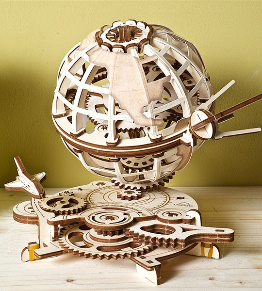 UGEARS «Globus» mechanical model