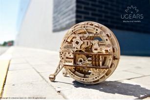 Monowheel mechanical model kit