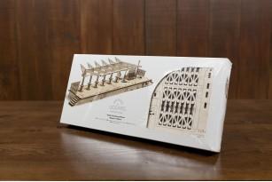 Railway Platform mechanical model kit