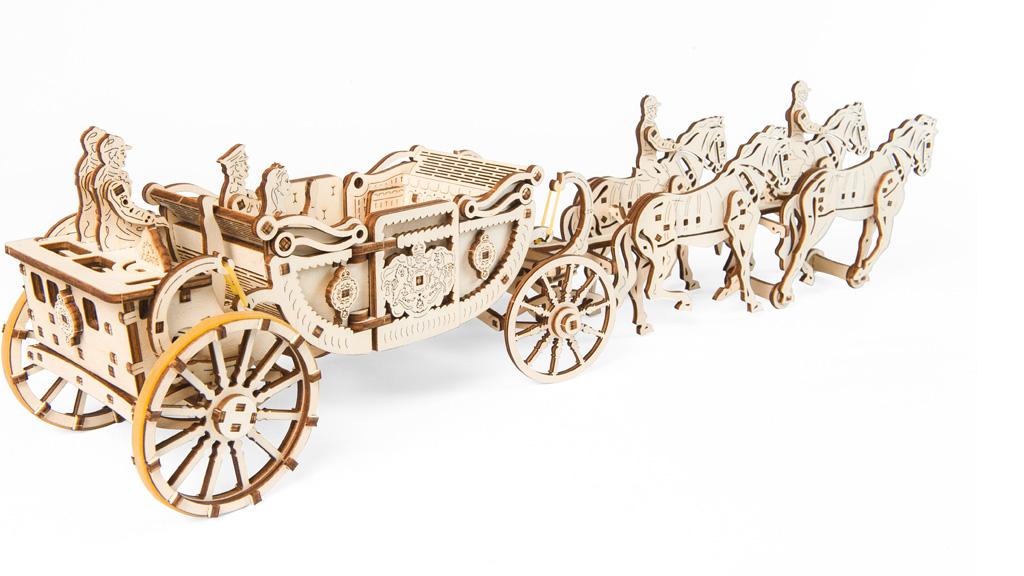 «Royal Сarriage» mechanical model kit