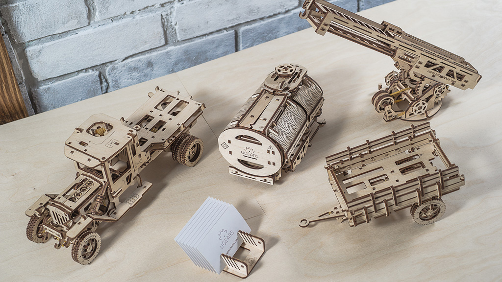 Set of Additions for UGM-11 Truck model