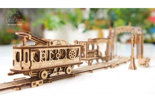 """""""Tram Line"""" model kit. Mechanical Town collection"""