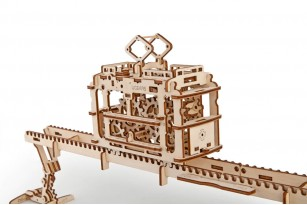 Tram on Rails mechanical model kit