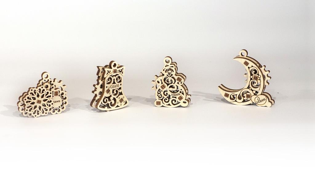 U-Fidgets-Gearsmas. Set of 4 models