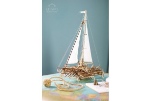 Trimaran Merihobus mechanical model kit